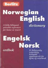 Berlitz Norwegian-English Dictionary/Engelsk-Norsk Ordbok-ExLibrary