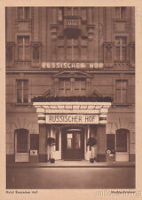 * BERLIN - Hotel Russischer Hof 1935
