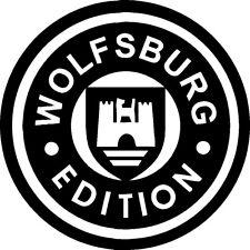 Wolfsburg Edición de la etiqueta engomada, VW Volkswagen Polo Caddy Golf R GTi Passat Camper T2