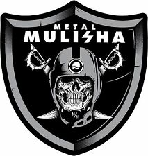 METAL MULISHA DECAL PAIR #6  Sticker, Truck Trailer Moto Car Window Wall Art