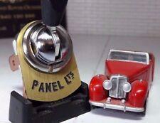 classique vintage Voiture Camion panneau Contacteur Feux Cuivre Plaque Tab Lucas