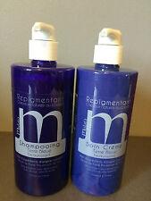 Shampooing 500 ml + soin repigmentant Mulato Terre Bleue déjaunissant 500 ml
