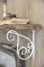 Jeanne d´Arc living Metallfries Regal Wand Antikweiß Shabby Vintage Brocante