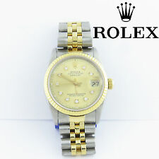 NYJEWEL Rolex 18k Oyster Perpetual Datejust Superlative Womens Diamond Watch