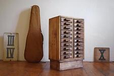 Schubladenschrank Antik Schränkchen Alt Loft Klein Vintage Fabrik Holz Bauhaus