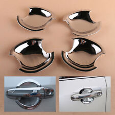 4Pcs Chrome Door Handle Cup Bowl Cover Molding Trim For 2012 -2014 TOYOTA CAMRY