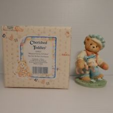 Enesco Cherished Teddies 1993 Tom, Tom the Piper's Son, Figurine, #624810, Box