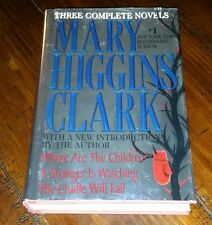 Three Complete Novels By Mary Higgins Clark 1996 HB