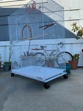 Low Profile Cage Stand Fits Cages 36x18 For Easy Moving
