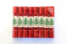 Robin Reed H0 Christmas Holiday 8pc 6in Mini Themed Crackers - Spode Tree