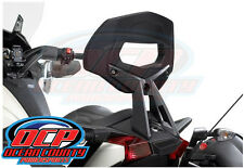 BRAND NEW GENUINE CAN-AM SPYDER RS ST PASSENGER BACKREST SISSY BAR CARBON BLACK