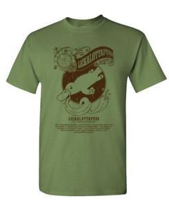 LICKALOTTAPUSS muff diver chow box nasty - Mens Cotton T-Shirt