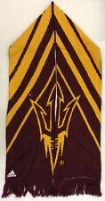 NCAA Arizona State Sun Devils Adidas Winter Knit Fringe Scarf Style # S617Z NEW!
