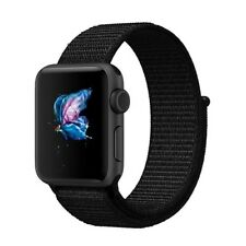 New Nylon Adjustable Wrist Sport Loop Replacement Band For Apple Watch Nike Plus