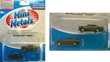50239 Paquet de 2 Voitures Chevrolet Mini Metals  N 1/160