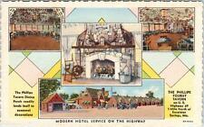 EXCELSIOR SPRINGS, Missouri  MO   Roadside  PHILLIPS TOURIST TAVERN  Postcard