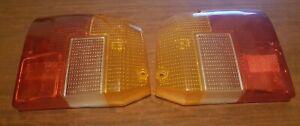 Lancia beta HPE tail light lenses (PAIR) Original SIEM brand -show quality-