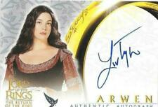 The Lord of The Rings Return of The King Liv Tyler Arwen  Topps Autograph  Card