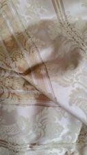 """Vintage unused pale gold brocade  color on color floral  11+ yds  64""""  lux"""
