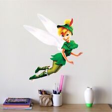 Tinker Bell Wall Decal Peter Pan Vinyl Disney Sticker Tinkerbell Sticker s17