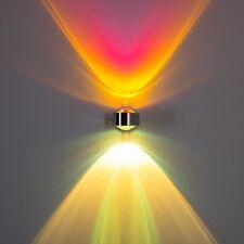 Design Wandlampe Flur Lampen Küchen Strahler up&down Wohn Zimmer Leuchte magenta