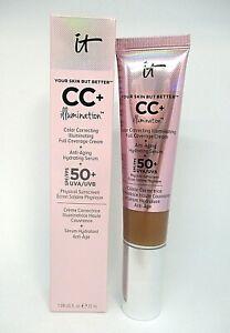 It Cosmetics Your Skin But Better CC+Illumination  Cream Spf 50+ ~ Deep ~ 32 ml