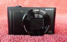 SONY Cyber-shot DSC-wx500  30x zoom. 18.2 MP- EUC+++.  Bought new 1 year ago.