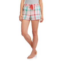 Secret Treasures Ladies Woven Plaid Shorts, Size XL