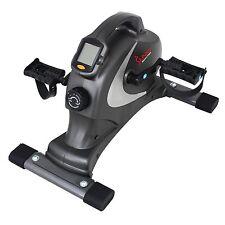 NEW Sunny Health & Fitness Mini EXERCISE BIKE Portable Magnetic STATIONARY Gray