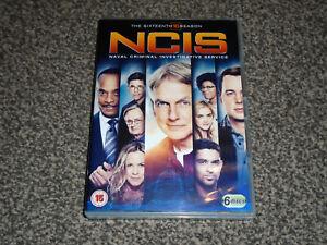 NCIS : THE SIXTEENTH SEASON ( 16 ) - 6 DISC DVD BOXSET IN VGC (FREE UK P&P)