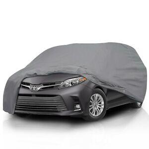 Full Car Cover for Honda Odyssey Mini Van 2005-2010 Sun UV Protection Waterproof