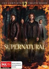 Supernatural : Season 12 (DVD, 2017, 6-Disc Set) Brand New Sealed Region 4