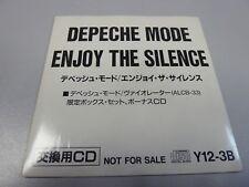 Depeche Mode – Enjoy The Silence 1990 1ST MEGA RARE JAPAN LIMITED PROMO MAXI-CD