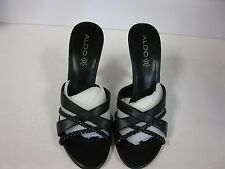 Aldo High Heel Sandals Shoes Esilda Size 9