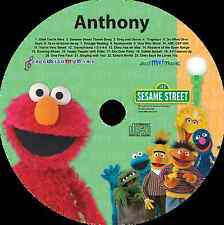 Sing Along with Elmo - Personalized Kids Music CD - Digital Download Available