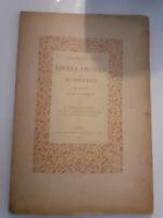 Catálogo De Libros Antiguos Y Moderno 1930 Giraud-Badin París