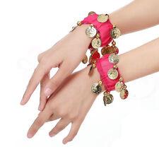 Indian Dance Performance Accessory Oriental Belly Dance Bracelets Coins Women