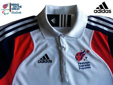ADIDAS PARALYMPIC GB TEAM GB ELITE ATHLETE PRESENTATION POLO SHIRT Size 36/38