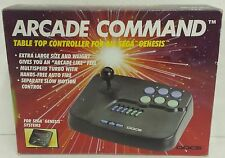 Arcade Command Table Top Controller Joy Fight Stick NIB Sega Genesis/32x/CDX