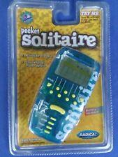 Radica Klondike & Vegas Solitaire 9916 Handheld Electronic Game NIB