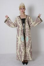 Chapan Silk Beautiful National Uzbek Traditional Robe Dress SALE WAS $225.00