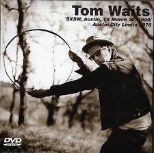New 2 CD+DVD set TOM WAITS SXSW Austin,TX March 20,99/Austin City Limits 1978