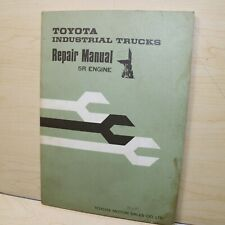 Toyota Forklift 5r Engine Repair Shop Service Manual Overhaul Tune Up Guide Book