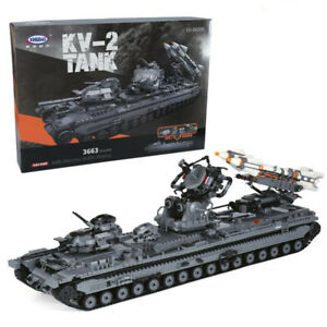 XINGBAO The KV-2 Tank Building Blocks New in Box 3663 PCS Free Ship US Seller