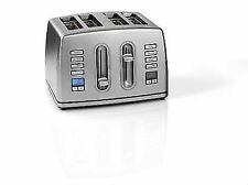 Cuisinart CPT445U 4 Slice Brushed Stainless Steel Digital Toaster