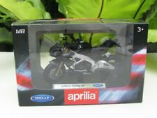Welly 1/18 Diecast Motorcycle 2014 Aprilia Tuono V4 Black Superbikes