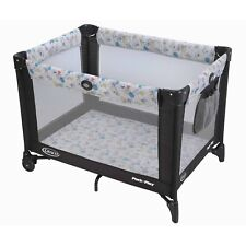 Playpen Playard Travel Bed Gear Compact Boy Girl Baby Toddler Sleeper Storage