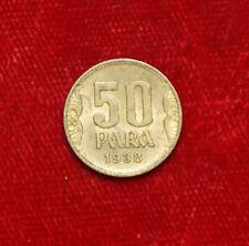 1938 50 para Dinara MONETA COIN yugoslavie Yugoslavia Iugoslavia (d7)