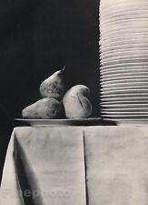 1931 Vintage FOOD KITCHEN Restaurant Photo Art EMMANUEL SOUGEZ 16x20 Frame Ready