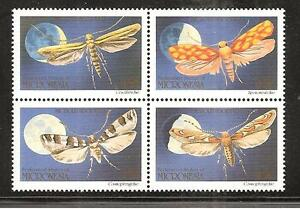 MICRONESIA # 127-130 MNH NATURE, INSECTS, MOTHS